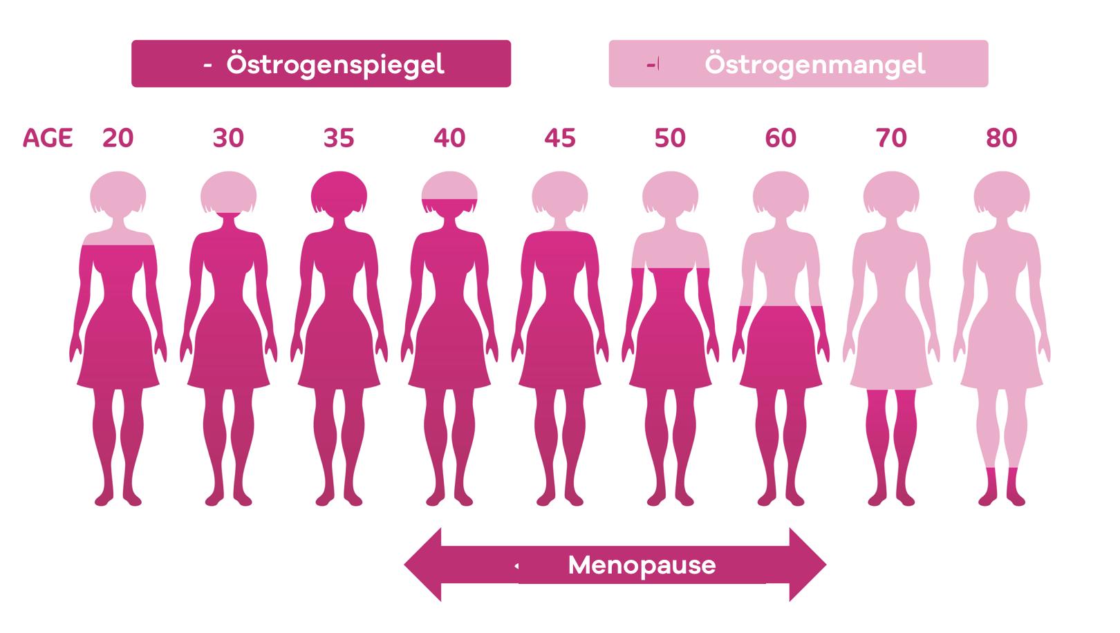 Führt eine Östrogen Hormonersatztherapie während der